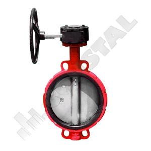 ROBINET APA CU CLAPA FLUTURE INOX PN 16 DN 350 CU REDUCTOR