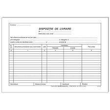 Poze Dispozitie de livrare, A5, autocopiativa 2 exemplare