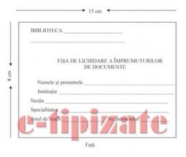 Poze Fisa de lichidare a imprumuturilor de documente