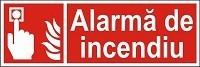 """Indicator """"Alarma de incendiu"""" - model 2  A5"""