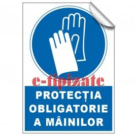 Poze Protecția obligatorie a mâinilor