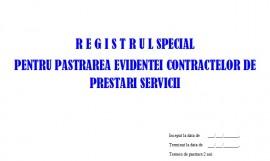 Poze Registru Special Evidenta Contracte, pentru Societatile specializate de Paza si Protectie - 100 file
