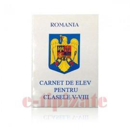 Poze Carnet de elev - clasele V - VIII
