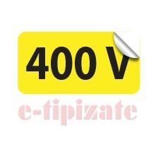 Poze Etichete prize 400V - set 10 autoadezive