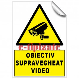 Poze Obiectiv supravegheat video