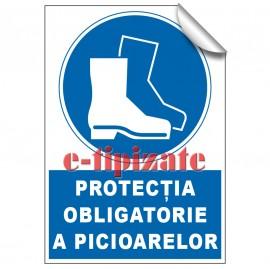 Poze Protecția obligatorie a picioarelor