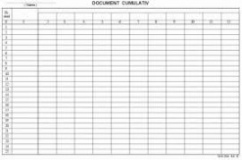 Poze Document cumulativ A4