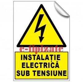 Poze Instalație electrica sub tensiune