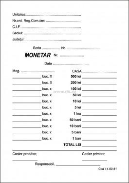 MONETAR A6 2 exemplare