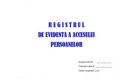Poze Registru Acces Persoane - 50 file