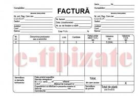 Poze Factura fiscala - A5 autocopiativa - 3 exemplare