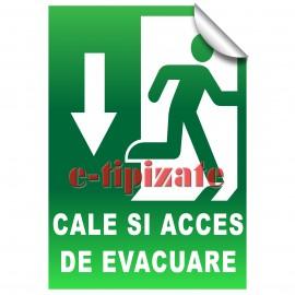 Poze Cale si acces de evacuare - Jos