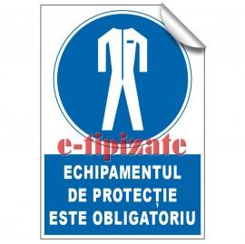 Poze Echipamentul de protecție este obligatoriu