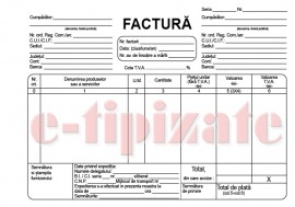 Poze Factura fiscala  A4 autocopiativa - 3 exemplare