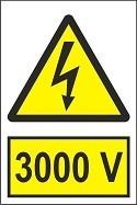 """Poze Indicator """"3000 V"""" A5"""