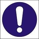 "Poze Indicator ""Obligativitate""  A5"