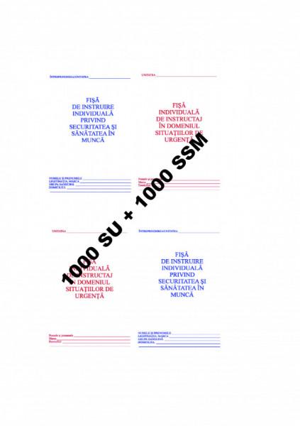 Poze 0,54 Lei / buc - PACHET 1000 Fise SU + 1000 Fise SSM + CADOU 1 PIX SCHNEIDER K15