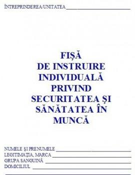 Poze 0,57 Lei/ buc - PACHET 1000 Fise SSM ( Fise de instruire individuala privind securitatea si sanatatea in munca ) +CADOU 1 PIX SCHNEIDER K15