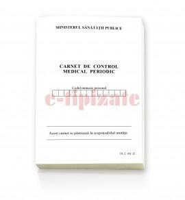 Poze Carnet medical de control periodic- A6
