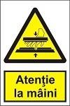 """Poze Indicator """"Atentie la maini"""" A5"""