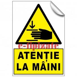 Poze Atenție la mâini