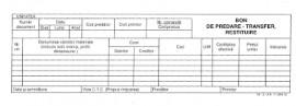 Poze Bon de predare transfer restituire 1/2 A4 autocopiativ 2 exemplare