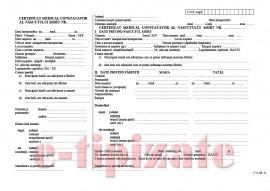 Poze Certificat medical constatator al nascutului mort A4