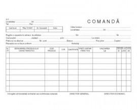 Comanda formular A4