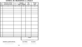 Poze Condica de prescriptii la aparat, A5