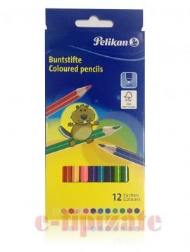 Creioane colorate PELIKAN 12 buc