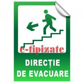 Poze Direcție de evacuare