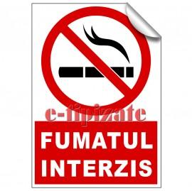 Poze Indicatoare Fumatul interzis