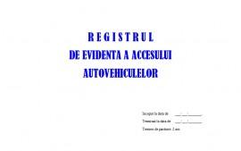 Registru Acces Auto - 100 file