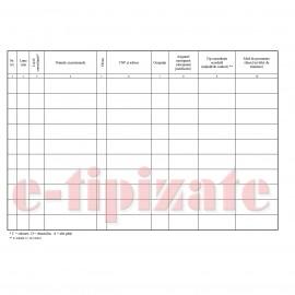 Poze Registru de consultatii medicale