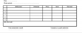 Poze Schema de Tratament 1/3 A4