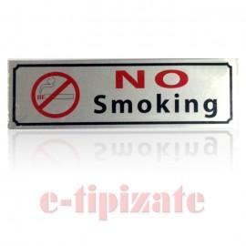Poze Indicator autoadeziv No smoking