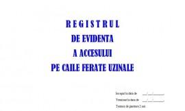 Registru Acces Cai Ferate Uzinale C.F.U. - 25 file