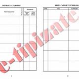 0,61 Lei / buc - PACHET 300 Fise SU ( Fise individuale de instructaj in domeniul situatiilor de urgenta ) + CADOU 1 PIX SCHNEIDER K15