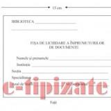 Fisa de lichidare a imprumuturilor de documente