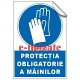Protecția obligatorie a mâinilor
