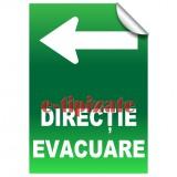 Direcție evacuare - Stânga