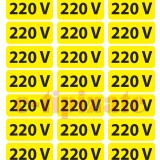 Etichete prize 220V - pe suport A4