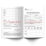 Fisa de consultatii medicale tip A-B pentru conducatorii de autovehicule - A4