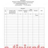 Registru pentru evidenta fondului de penalizari