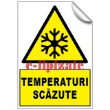 Temperaturi scăzute