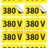 Etichete prize 380V - pe suport A4