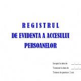 Registru Acces Persoane - 50 file