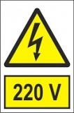 """Indicator """"220 V"""" A4"""