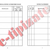 0,57 Lei / buc - PACHET 1000 Fise SU ( Fise individuale de instructaj in domeniul situatiilor de urgenta ) + CADOU 1 PIX SCHNEIDER K15
