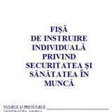0,61 Lei/ buc - PACHET 300 Fise SSM ( Fise de instruire individuala privind securitatea si sanatatea in munca ) + CADOU 1 PIX SCHNEIDER K15